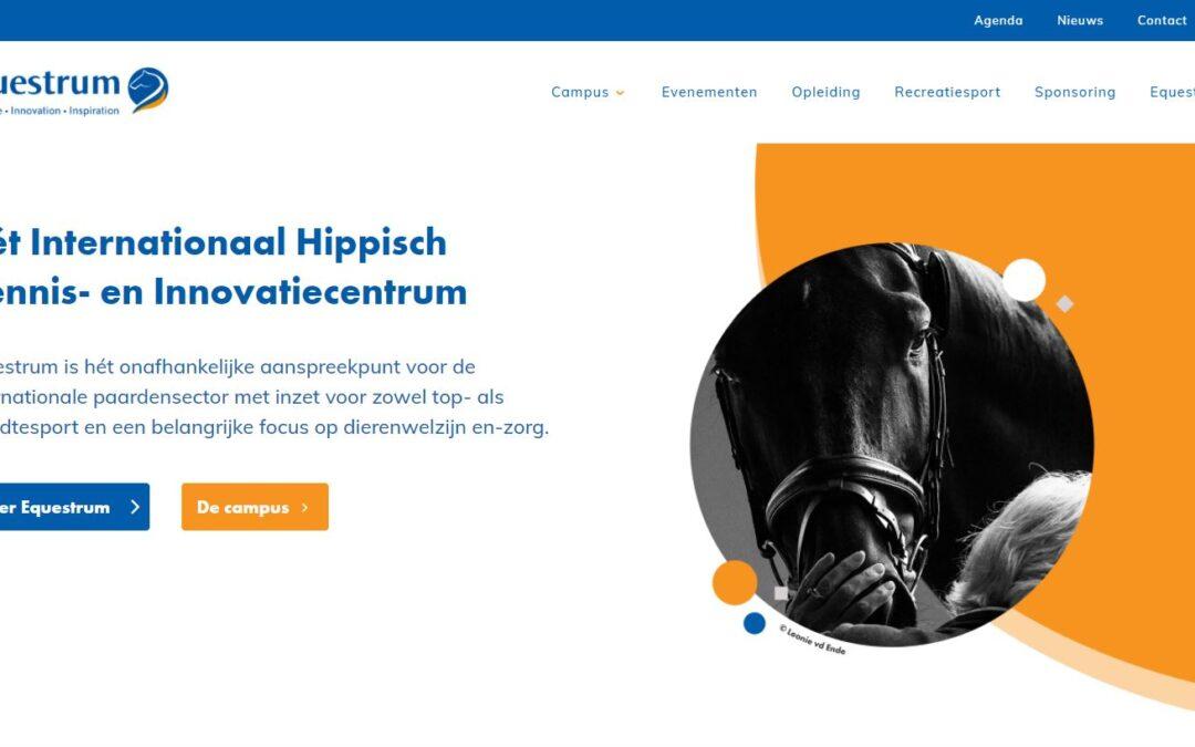 RSP realiseert nieuwe website Equestrum